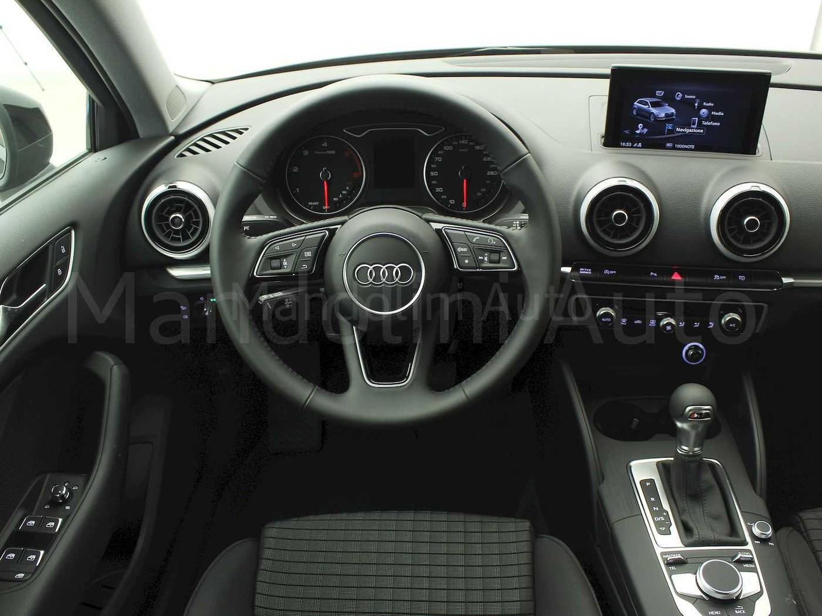 Audi A3 sportback 35 2.0 tdi sport 150cv s-tronic 7m